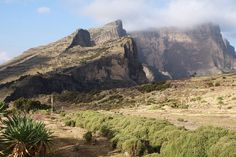 ethiopian highlands - chenek camp site in simien mountains national park, Ethiopia