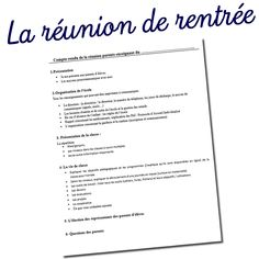 Parents Meeting, Cycle 3, Teaching French, Learn French, Kids Education, Parenting, Teacher, Math, Learning