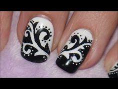 Black & White Arabesque by Alessia D   Preen.Me