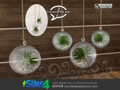 by SIMcredibledesigns.com  Found in TSR Category 'Sims 4 Plants'