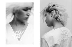 """Metralleta"" necklace - La Tourette collection Natascha Wiese by Mathieu Vladimir Alliard for Laia Varela Joyas"