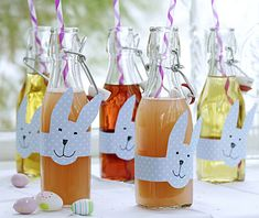 Sweet Easter decor  #easter, #bunny, #drink