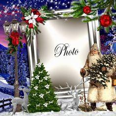 Christmas Frames, Christmas Photos, Winter Christmas, Merry Christmas, Xmas, Holidays And Events, Happy Holidays, Foto Frame, Frame Clipart