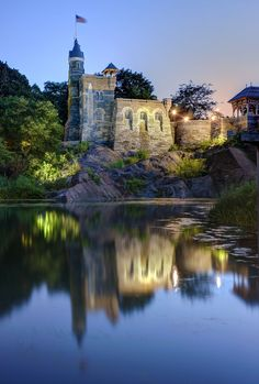Belvedere Castle in Central Park, NY  photo by Dez Santana