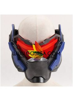 Item Detail Overwatch Soldier 76 Original Helmet Cosplay Prop Includes - Helmet Important Information: Primary Material - EVA, PVC, Light Wood Safety - All props are made with convention/event safe ma