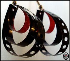 Film earrings? YES!