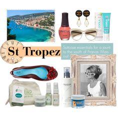 """Travel Kits: St Tropez"" by saraelizabethskincare on Polyvore"