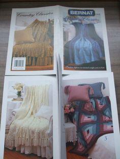 Second Silver - Knit Afghans Knitting patterns SRK Ripple Marble Patons Knit n Save Bernat