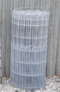 Traditional Woven Wire Fencing For 1920 S Style Homes