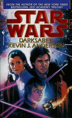 Darksaber was written by the same author as the 3 book Jedi Academy trilogy. As I said about Children of the Jedi, I hoped it would change the direction of how Luke would be portrayed and it did. It's hard to tell who is going to live and die in this one and I'll try not to give anything away but at least one Jedi dies. I just looked this book up on Wookieepidia and it claims some say this is the worst Star Wars novel! I have to disagree! (Read more at my Blog by clicking the picture...)