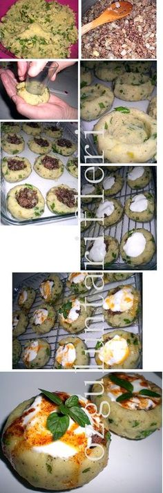 patetes mantisi- needs to be translated Lebanese Recipes, Turkish Recipes, Plats Ramadan, Ramadan Recipes, Cooking Recipes, Healthy Recipes, Potato Dishes, Middle Eastern Recipes, Arabic Food