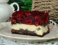 Bardzo lubię ciasta z makiem, są one moim ulubionymi wypiekami. Nie lubię jednak nudy w ciastach. Stworzyłam zatem ciasto, które już kiedyś było, ale za to z takim dodatkiem, przez który żadna nuda nie byłaby dla mnie straszna. Ciasto jest przepyszne:)) Gorąco polecam! Sweets Cake, Cookie Desserts, Fun Desserts, Sweet Recipes, Cake Recipes, Dessert Recipes, Polish Recipes, Food Cakes, Baking Tips