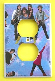 Disney Camp Rock OUTLET Switch Plate switchplate . $7.99