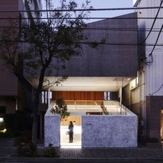 Yuko Nagayama floats an apartment  above a patisserie in Japan