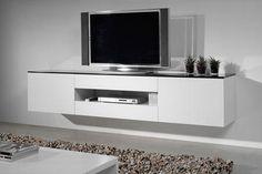 tv meubel wit zwevend - Google zoeken