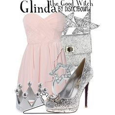 """Glinda the Good Witch"" by lalakay on Polyvore"