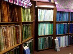 More Batiks in our East Lansing, MI store.