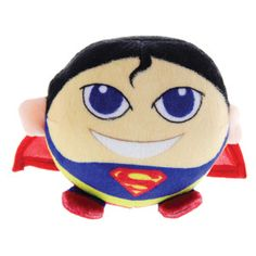 Superman to the rescue! Your pet can fight off any villian w/ a Superman @D C Comics plush toy – PetSmart $4.99 #superpet
