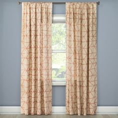 Get these curtains from Target for $13.99 per panel (available in four colors, three lengths).