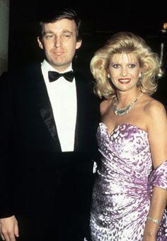 Ivana Trump (with Donald))