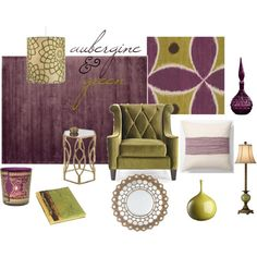 green livingroom on pinterest green living rooms purple living
