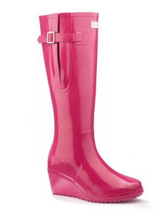 You can style look good while getting dirty! These Candy Girl Flex wellies are fab with their wedge heel Pink Wedges, Cute Wedges, Pink Cotton Candy, Pink Candy, Funky Wellies, Festival Boots, Pink Out, Hot Pink, Tk Maxx