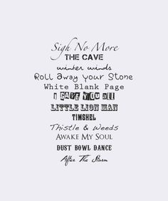 mumford and sons. the cave. little lion man. sigh no more. roll away your stone. MUMFORD MUMFORD