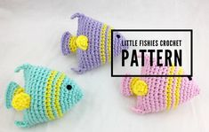 It's almost summer ya'll! That means beach days, lake trips, and pool parties! Inspired by my daughters by the sea pool party, I created these cute little crochet fish (they will…