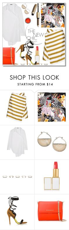 """""""::Chic::"""" by katicamc ❤ liked on Polyvore featuring Salvatore Ferragamo, Ann Demeulemeester, Topshop, Isabel Marant, Tom Ford, Daniele Michetti and Givenchy"""