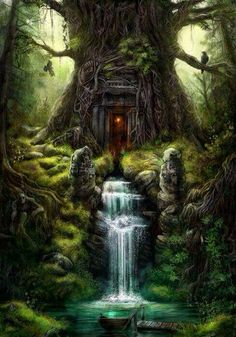 Magic Forest Fairy Home