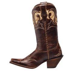 Durango Women's Peek-A-Boot Western Boots