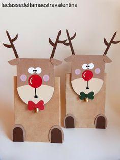 reindeer xmas gift box