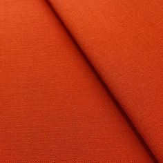 ORANGE 94 Inch wide Premium Grade Polyester & Cotton 68 Pick Sheeting Fabric for all types of Crafts, Backdrops, Linings, Tablecloths, Bedding, Stage Wear as well as many other uses. - By The Metre