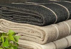 Super absorbent LIITURAITA (pinstripe) linen terry towels / Jokipiin Pellava