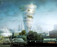 Plans for a tornado-shaped skyscraper in Tulsa, Oklahoma unveiled.