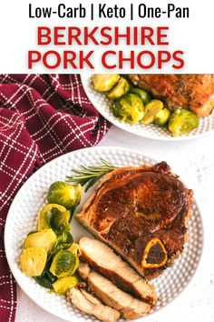 For a restaurant quality main dish, give this simple pan fried Berkshire pork chop recipe a try! It combines fresh herbs and seasonings with a cooking method that keeps the meat juicy inside and crisp on the outside. Ketogenic Recipes, Low Carb Recipes, Diet Recipes, Berkshire Pork Chop Recipe, Fun Easy Recipes, Easy Meals, High Fat Foods, Chops Recipe, Pork Chop Recipes