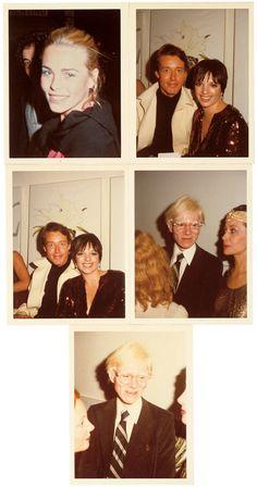 Margaux Hemingway, Halston, Liza Minelli, Andy Warhol, Ultra Violet, New York City, 1974