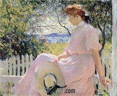 Eleanor,1907   Frank Weston Benson   Boston Museum of Fine Arts Massachusetts USA