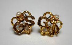 Vintage Girl Scout Earrings, $19