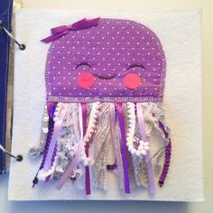 Sensory Jellyfish quiet book page