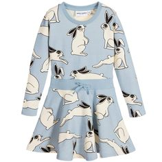$25.00 (Buy here: https://alitems.com/g/1e8d114494ebda23ff8b16525dc3e8/?i=5&ulp=https%3A%2F%2Fwww.aliexpress.com%2Fitem%2FMini-Rodini-Rabbit-Flared-Dress-Girls-Winter-Animals-Print-Party-Dresses-For-Kids-Autumn-Long-Sleeves%2F32723539038.html ) Mini Rodini Girls Dress 2016 Autumn Rabbit Animal Print Long Sleeve Party Dresses For Kids Vestido Infantil Teen Girls Clothes for just $25.00
