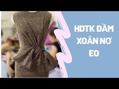 Hướng dẫn thiết kế váy xoắn nơ eo - YouTube Sewing Kids Clothes, Sewing For Kids, Diy Clothes, Mint Prom Dresses, Leg Butt Workout, Origami Fashion, Skirt Patterns Sewing, Fashion Videos, Fashion Sewing