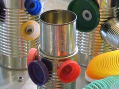 Tin cans and magnets