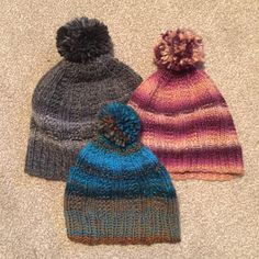 Knitted Hats, Winter Hats, Knitting, How To Make, Fashion, Knit Hats, Moda, Tricot, Fashion Styles