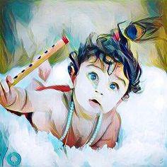 Yashoda Krishna, Krishna Hindu, Cute Krishna, Krishna Radha, Krishna Drawing, Krishna Painting, Lord Krishna Wallpapers, Radha Krishna Wallpaper, Lord Krishna Images