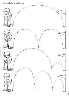 Picture Tracing | Preschool Worksheets | Pinterest ...