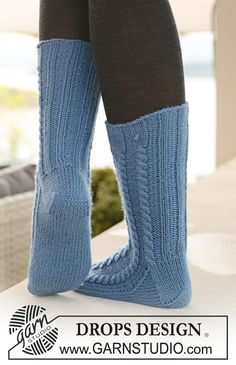 Ravelry: Twirls and Braids by DROPS design Drops Design, Knitting Patterns Free, Free Knitting, Free Pattern, Magazine Drops, Braid Patterns, Crochet Diagram, Diy On A Budget, Knitting Socks