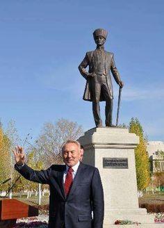 """""""Türklüğümüzü çocuklarımıza ve bütün dünyaya öğretelim. Ayrıca unutulmamalı ki babamız Atatürk'ün dediği gibi Türk'ün Türkten başka dostu yoktur."""" Kazakistan Devlet Başkanı Nursultan Nazarbayev"""
