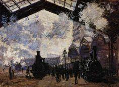 0257 The Saint-Lazare Station 1 1877