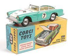 Corgi Toys - Aston Martin Competition Model - N°309